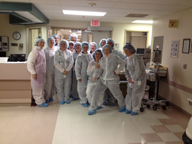 Tour of the Crossroads Community Hospital in Mt. Vernon.